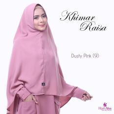 Hijab Alsa Raisa Jilbab Syari Instan Langsung Pakai Warna Dusty Pink