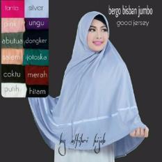 Hijab Bandung Kerudung Instant Bergo Bisban Jumbo