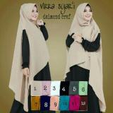 Beli Hijab Cantik Jilbab Khimar Chardy Cardi Virra Syar I Grosir Seri 3 Buah Multicolor Hijab Asli