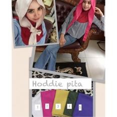 Spesifikasi Hijab Hoddie Pita Lepas Met Katun Mee