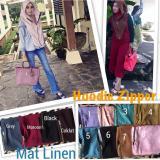 Spesifikasi Hijab Hoddie Zipper Met Linen Terbaik