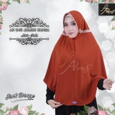 Beli Hijab Instan Arrafi Talita Jumbo B Warna Dark Orange Ar45J Jilbab Kerudung Syari Jumbo Bergo Khimar Baru