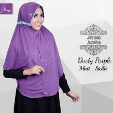 Rp 80.000 hijab instan Arrafi Talita Jumbo B (warna Dusty Purple) Ar45J jilbab kerudung syari jumbo bergo khimarIDR80000