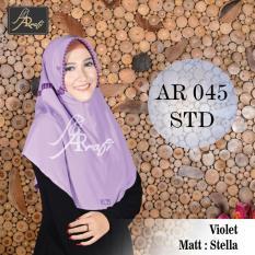 Rp 67.500 hijab instan Arrafi Talita Kombinasi (warna Violet) AR45A jilbab .
