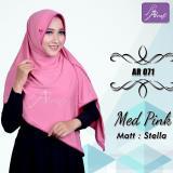 Beli Hijab Instan Arrafi Veena Warna Med Pink Ar71N Kerudung Jilbab Bergo Baru