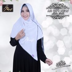 hijab instan Arrafi Veena  [warna Putih] AR71N kerudung jilbab bergo khimar pashmina pasmina bergo
