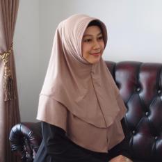 Hijab Kerudung Instan Imala-Coklat Best Seller