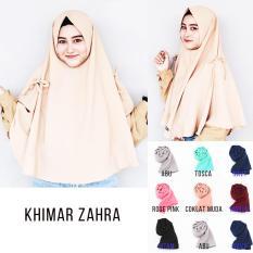 Hijab Instan Jilbab Kerudung Khimar Zahra - Jilbab Instan - Kerudung Hijab Khimar Instan