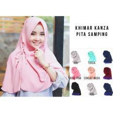 Hijab Instan Jilbab Kerudung Khimar Kanza - Jilbab Instan - Kerudung Hijab Khimar Instan