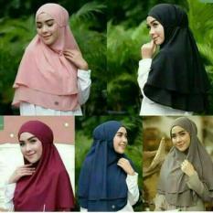 Harga Hijab Instan Krimar Double Rumbai