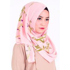 Diskon Produk Hijab Instan Milla Pink Flowery