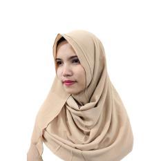 Hijab Instan Pasmina 1 Lubang Pastan Cantik Jilbab Instan Pashmina Instan