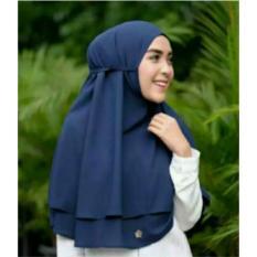 Spesifikasi Hijab Instan Rubiah Tali 2Layer Baru