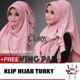 Beli Hijab Jilbab Flowing Pad Coksu Free Klip Umadera Dengan Harga Terjangkau