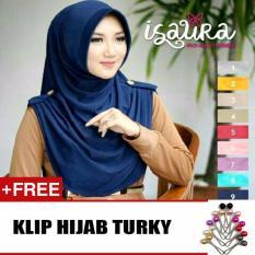Hijab Jilbab Instant Isaura Free Klip