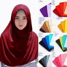 Hijab Jilbab Kerudung Instan Najwa - Jilbab Kaos Katun TC Premium - Hijab Kerudung Murah Premium
