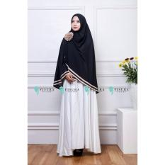 Ulasan Hijab Jilbab Khimar Syar I Fisura Hitam