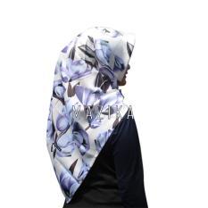 Toko Warungsiboss Hijab Segi Empat Nadia Sandwash Platinum Krem Ungu By Mazika Hijab Termurah Di Jawa Barat