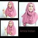 Hijab Kerudung Jilbab Pastan Pasmina Pashmina Instan Amira Tali Tassel Di Jawa Timur