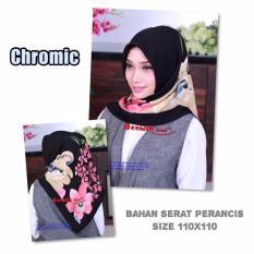 Hijab -krudung segi empat chromic -jilbab modis dan trendy