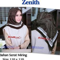 hijab-krudung segiempat lamiz azzura-jilbab modis dan trendy terkini -hijab zenith bahan serat miring