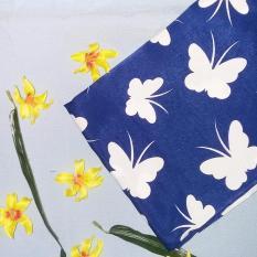 Spesifikasi Hijab Maula Segiempat Royal Maxmara Butterfly Blue Murah