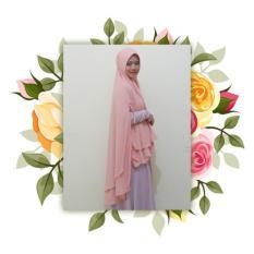 Harga Hijab Maula Syar I Zinnia Peach Di Yogyakarta