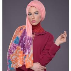 Hijab Pashmina Hungaria Foulard By Mezora (Pink Peach)