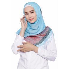 Hijab phasmina biru