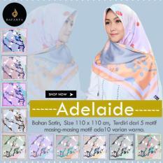 Hijab Printing saten velvet / Jilbab Segi Empat terlaris Adelaide-Abstrak