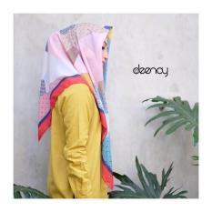Diskon Hijab Printing Jilbab Segi Empat Deenay Original Aisha Indonesia