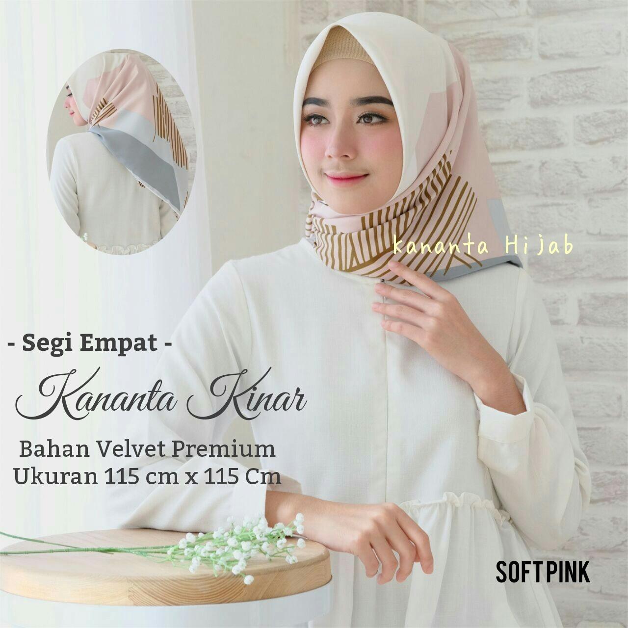 Beli Inner Bandana Rajut Ciput Dalaman Jilbab Anti Pusing Llinner Hijab Segi Empat Motif Abstrak Bahan Velvet Premium Maxmara Kananta Kinar