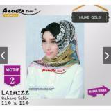Harga Hemat Hijab Segi Empat Motif Satin 110X110
