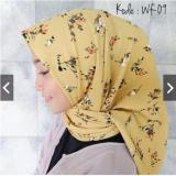 Jual Hijab Segi Empat Motif Wolfis 110X110 Termurah