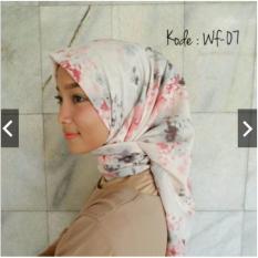 Promo Hijab Segiempat Motif Bubble Pop 110X110 Di Indonesia