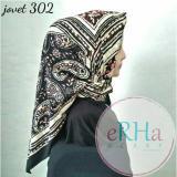 Harga Hijab Segiempat Motif Satin 110X110 Asli