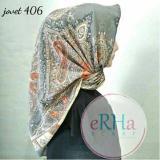 Toko Hijab Segiempat Motif Satin 110X110 Hand Made Indonesia