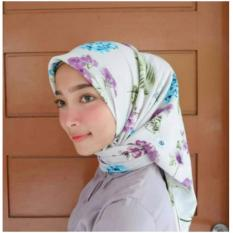Harga Hijab Segiempat Motif Wolfis 110X110 Murah