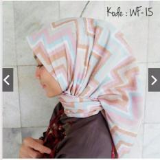 Diskon Hijab Segiempat Motif Wolfis 110X110 Indonesia