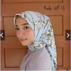 Harga Hijab Segiempat Motif Wolfis 110X110 Termahal