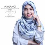 Harga Erloz Hijab Segiempat Royal Maxmara Grey Hijab Original