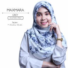 Jual Erloz Hijab Segiempat Royal Maxmara Grey