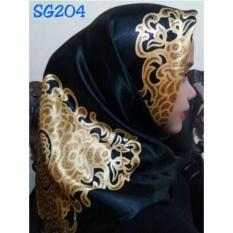 Harga Hijab Segiempat Satin 110X110