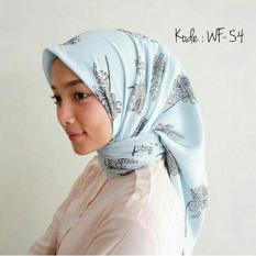 Promo Hijab Segiempat Square Wolfis 110X110 Akhir Tahun
