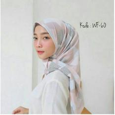 Hijab Segiempat Square Wolfis 110X110 Hand Made Diskon 40
