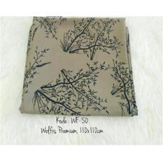 Spesifikasi Hijab Segiempat Square Wolfis 110X110 Hand Made