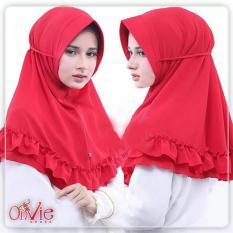 Hijab Simpel Khimar Pet Rempel Jilbab Muslimah