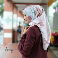 Jual Beli Hijab Square Maxmara Lana Square Dusty Baru Jawa Barat