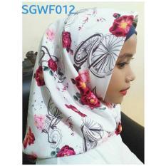 Jual Hijab Square Wolfis Impor 110X110 Lengkap