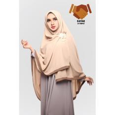 Harga Hijab Syari Hijab Jumbo Hijab Khimar Amora List Caramel Dan Spesifikasinya